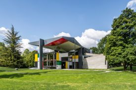 Pavilion Le Corbusier Zurich, Switzerland - reopens and restored by architects Silvio Schmed and Arthur Rüegg.