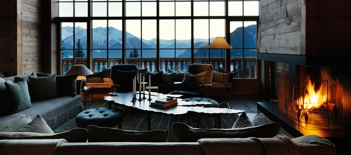Alpine Ski Chalet interiors designed by Ilse Crawford