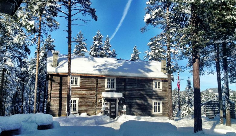 Herangtunet Boutique Hotel, in Valdres, Norway - traditional house in the forests | White Line Hotel