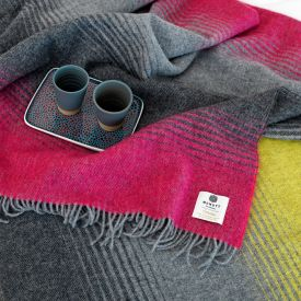 McNutt of Donegal weave tweed and Irish wool on handlooms and has evolved over the years to produce Irish linen, fabric and accessories including wool blankets.
