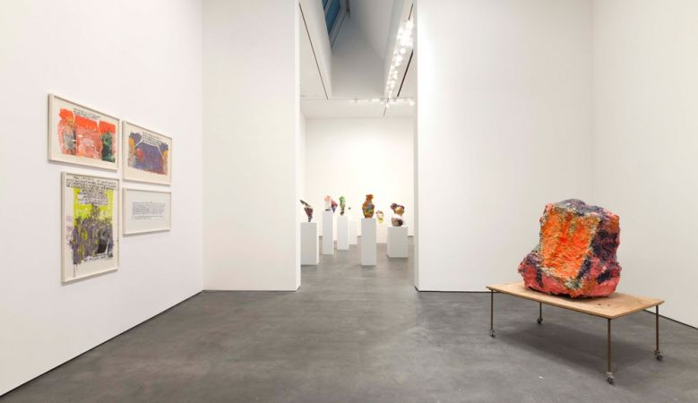 Installation view, David Zwirner New York