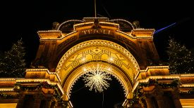 Tivoli Gardens Copenhagen presents the Winter Wonderlands this Christmas