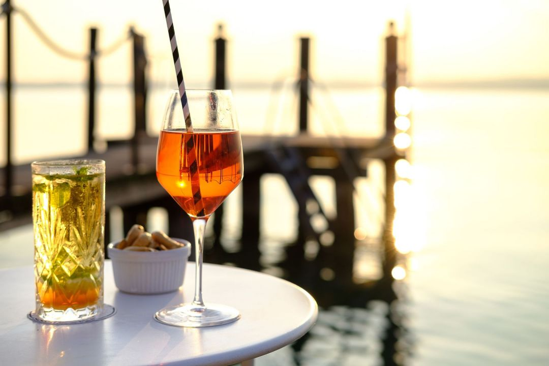 Aperol Sprizz at AQVA Boutique Hotel