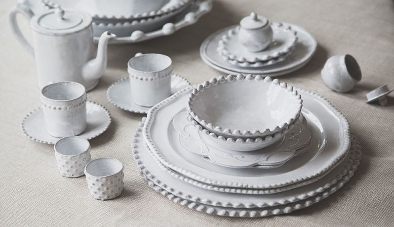 Astier de Villatte Paris, ceramics, pottery, contemporary in white, A Desgin Guide to Paris, France