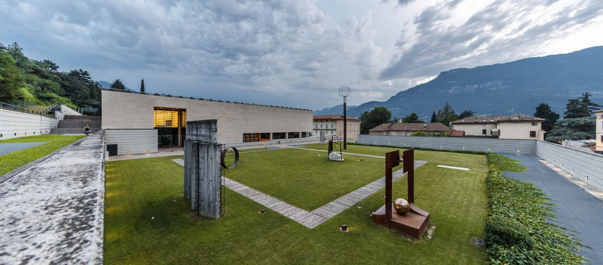 view from Italy's MART gallery in Trentino Alto-Adige