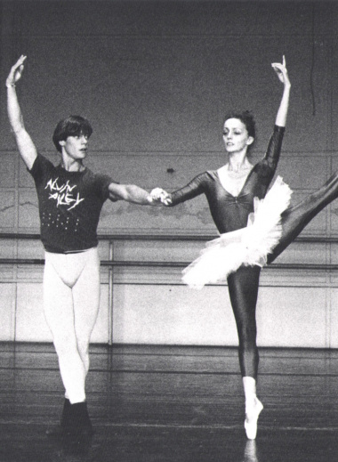 Ballet Dancer Alexander Kølpin - Copenhagen in a ballet performance at the Royal Ballet Copenhagen, the creator and owner of the hotel Sanders Hotel.
