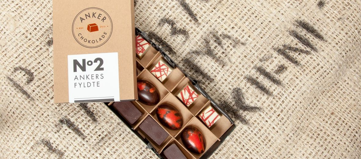 ANKER Chocolate Copenhagen , Denmark's luxury crafted chocolatier