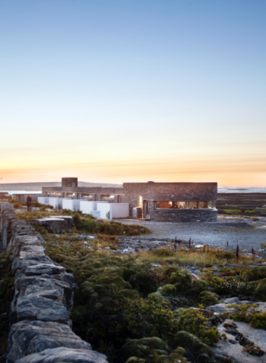 Inis Meáin Restuarant & Hotel | Aran Islands Ireland  | Design buiding in local stone