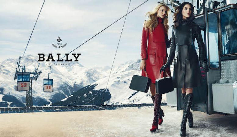 Bally Switzerland know everything about cool style for the slopes in Zurmatt