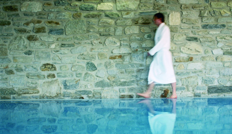Pool, Wellness at Haus Hirt Boutique Alpine Hotel & Aveda Spa in Bad Gastein, Austria