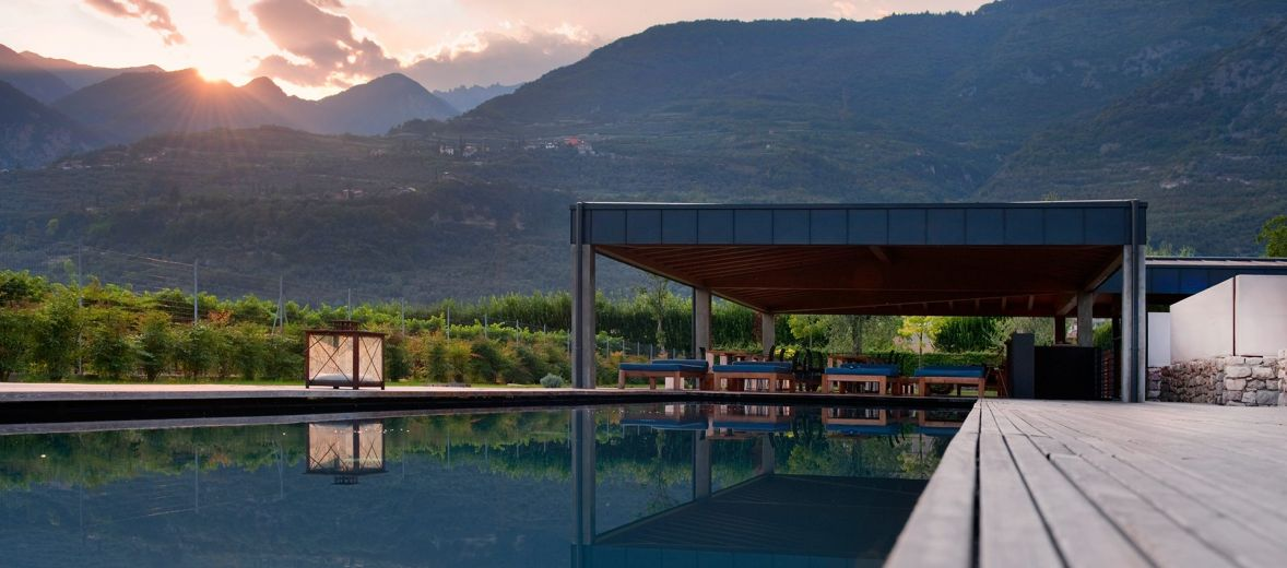 Mountain Pool by Genuizzi | Banal Architects | Vivere Suites Arco Mountains