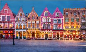Bruges' Choc-Box Christmas, Winter Wonderlands in Belgium, Unesco buildings