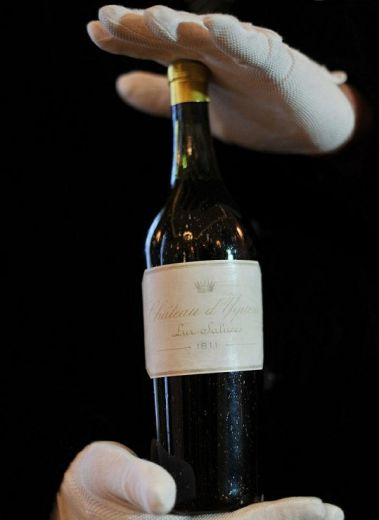 Chateau d'Yquem 1811, Switzerland's Park Hotel Vitznau wine collection