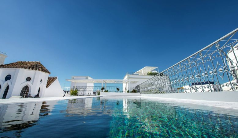 Rooftop Swimming Pool Algarve | Casa Fuzeeta - luxury private hire holiday villa in Olhão, Algarve