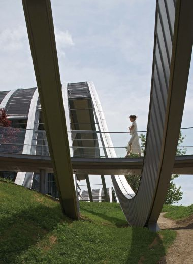 Zentrum Paul Klee, Bern, Switzerland by architect Renzo Piano