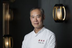 Frank Xu - the Cantonese Michelin starred chef at Le Tsé Fung, La Reserve Hotel Geneva