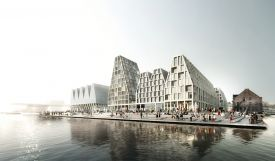 Papirøen, Paper Island in the harbour of Copenhagen, Demnark, new visitor artistic attraction