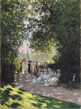 The Parc Monceau | Claude Monet, 1878 | 'Public Parks, Private Garden: Paris to Provence'The Met, New York