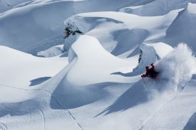 Skiing in Zermatt, snow, skiers, white, alps, white line hotels