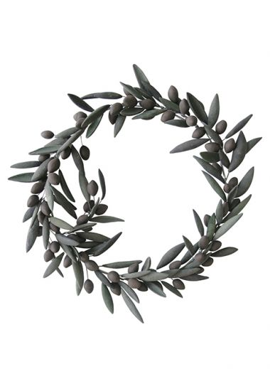 Wreath  Kotinos was a wreath, made from a brunch of the wild olive tree, that ancient Greeks crowned the Oly | Maru Meleniou | Ceramic Designs in Stoneware | The Aficionados