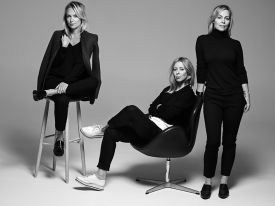 House of Dagmar - Sisters Kristina Tjäder, Sofia Wallenstam and Karin Söderlind of Swedish Fashion House Dagmar in Stockholm
