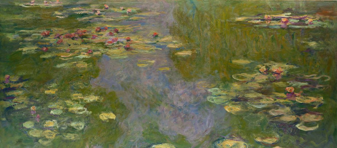 Water Lilies | Claude Monet, 1919 | The Met, New York - 'Public Parks, Private Garden: Paris to Provence'The Met, New York