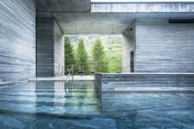 Peter Zumthor's Therme Vals architecture