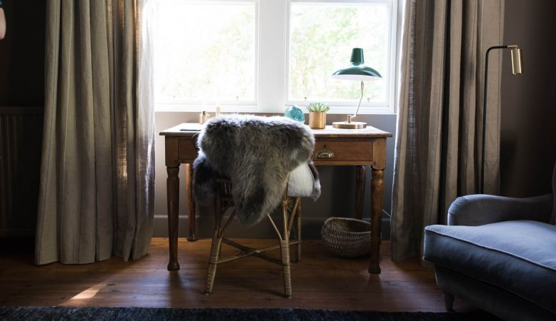Kinloch Boutique Guesthouse & Lodge in Sutherland - modern scandi interiors of the new bedrooms in the Scottish Highlands