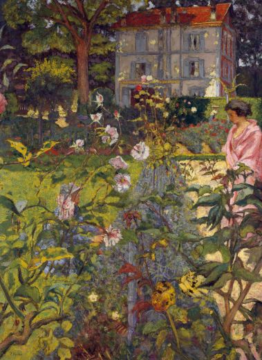 Garden at Vaucresson  Artist:Édouard Vuillard -'Public Parks, Private Garden: Paris to Provence'The Met, New York