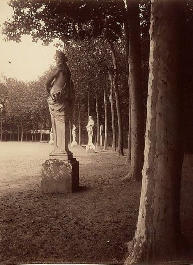 Eugene Atget Versailles Cour du Parc- 'Public Parks, Private Garden: Paris to Provence'The Met, New York