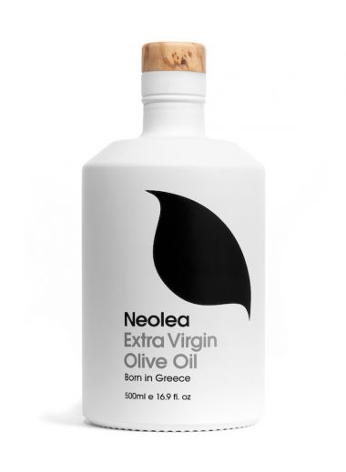 Food Branding | Luminous Design for NEOLEA | Extra Virgin Olive Oil & Salt From Greece | The Aficionados