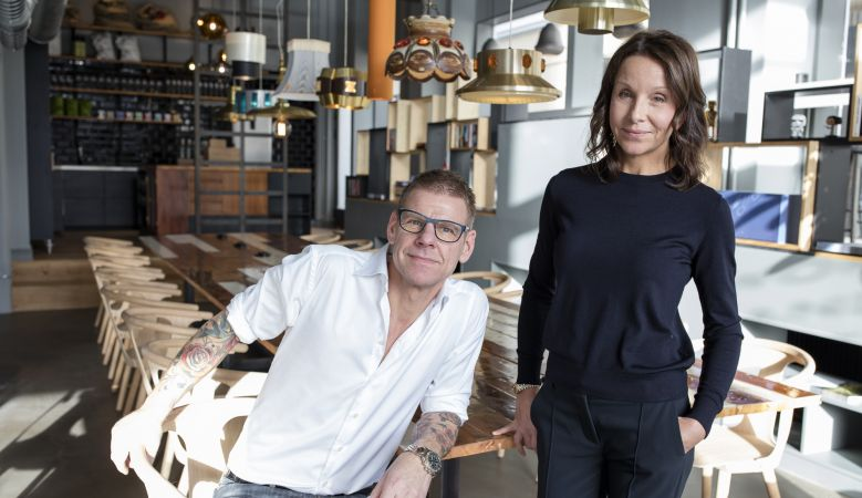 Carina & Daniel Högberg, creative owners of the Boutique Hotel Flora Gothenberg, Sweden