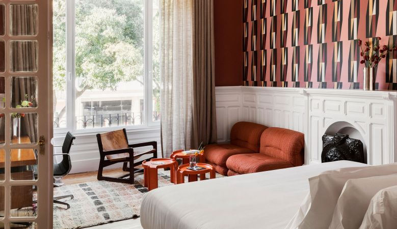 Luxury Bedroom | Rooms & Suites, Casa Fortunato Lisbon, Portugal, White Line Hotels