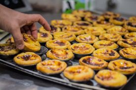 Lisbon, Portugal, pasteis de natas, Photo by Felix Kolthoff on Unsplash