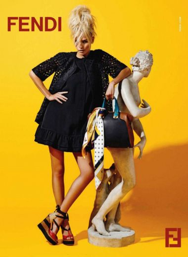 Natasha-Poly-for-Fendi-Resort-2012-Campaign-by-Karl-Lagerfeld, Rome, Fendi, fashion, architecture, Italy