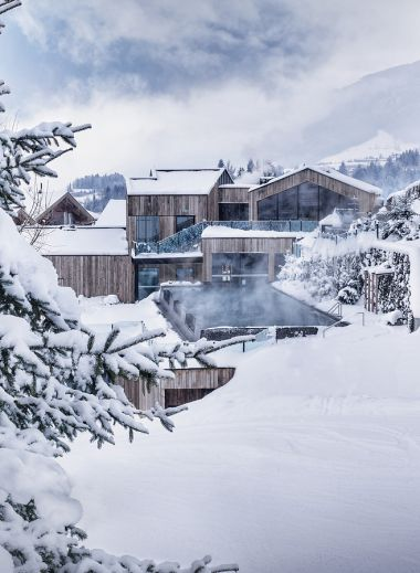 Winter wellness at the luxury Spa Hotel Forsthofgut, Leogang, Austria