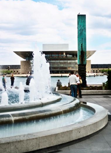 Amaliehaven garden and the Royal Copenhagen Opera House , Copenhagen, Denmark, must-see