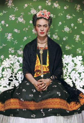 Nickolas Muray. Frida on White Bench - Exhibition at the Mayoral Galeria d'Art in Barcelona