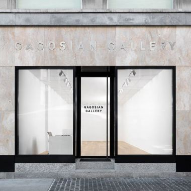 The exterior of the Gagosian Gallery Geneva