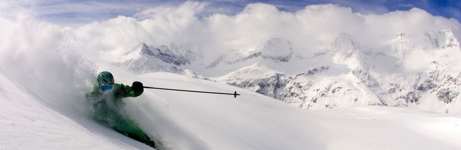 skiing Hohe Tauern, Bad Gastein, the alps in Austria