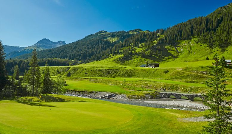 Lech, golf, alps, Austria, Arlberg, luxury