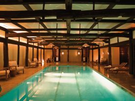 Spa at The Greenwich Hotel, NYC by Axel Vervoordt