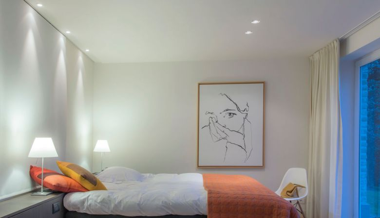 Design interiors of the bedrooms | Spoor.62 B&B | Moere, Gistel, Belgium | White Line Hotels