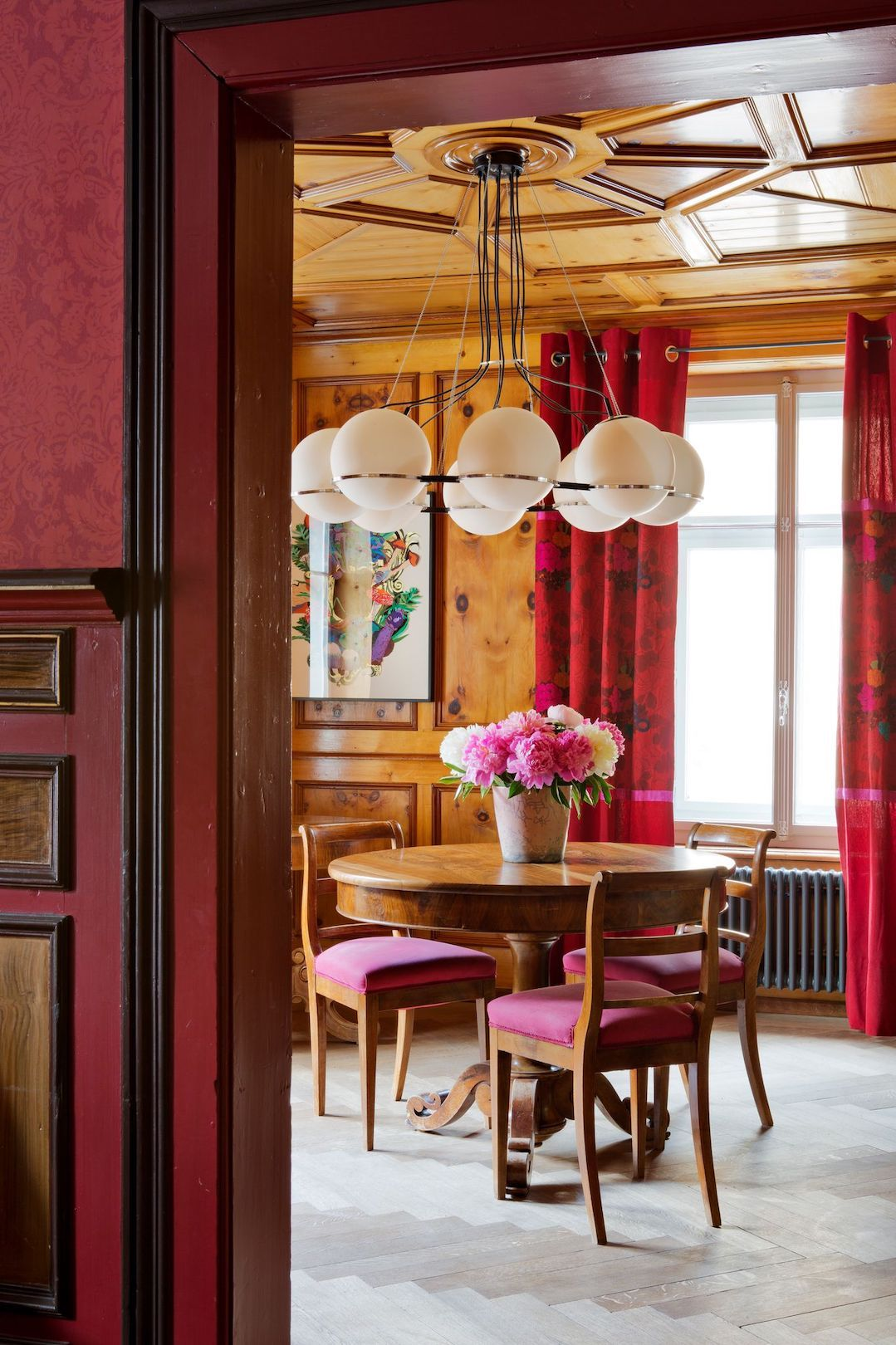 Villa Flor Engadin  - boutique townhouse interiors
