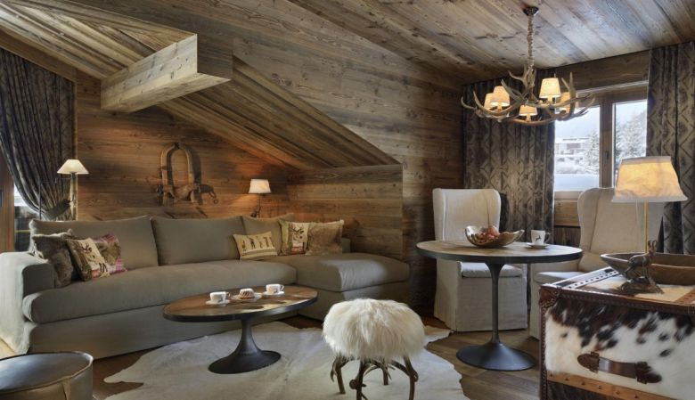 Hotel Arlberg luxury hotel bedroom in Lech am Arlberg in Austria