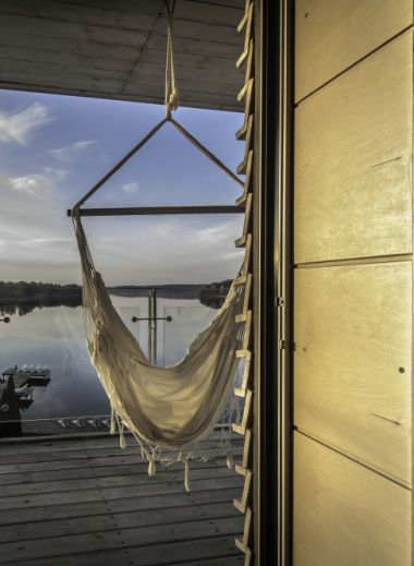 Creative interiors of the design hotel,  Galery69 a boutique hotel in Poland's beautiful Lake District, Warmia Mazury