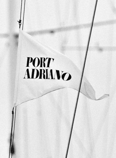flag at Port Adriano Mallorca
