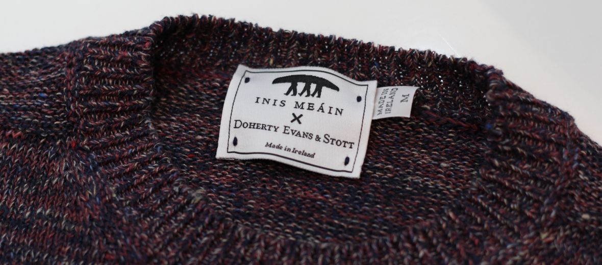 Inis Meáin Knitting Company, wool jumper