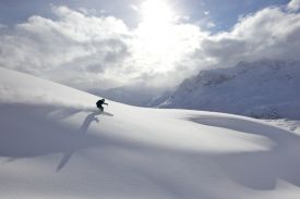 Skiing in Lech am Arlberg, Austria, Alps, snow, winter sports