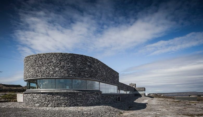 The design hotel, Inis Meáin Restaurant & Suites in the Aran Islands, Ireland